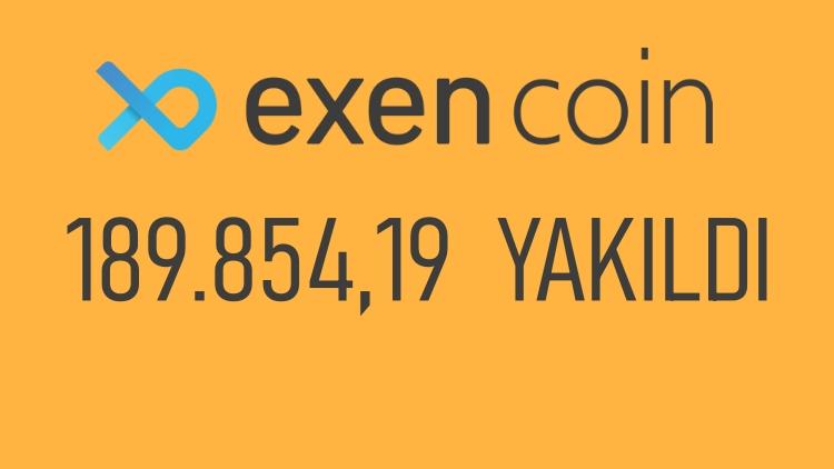 Bitexen 189.854,19  EXEN Coin Yaktı