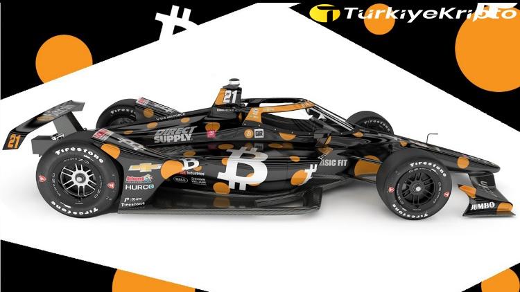 İlk Bitcoin Arabası Indy 500'de Yarışacak