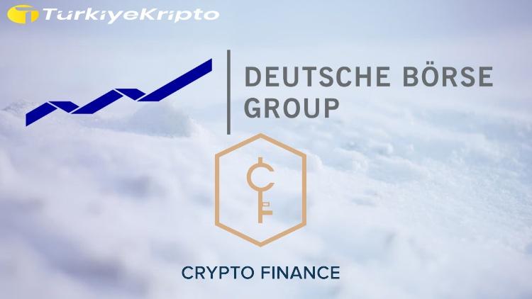 Deutsche Börse Group, Crypto Finance AG'nin Hissesini Aldı