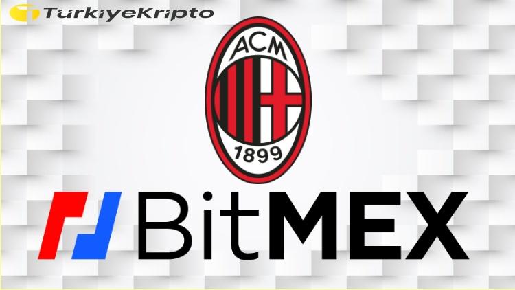 BitMEX AC Milan'a Sponsor Oluyor