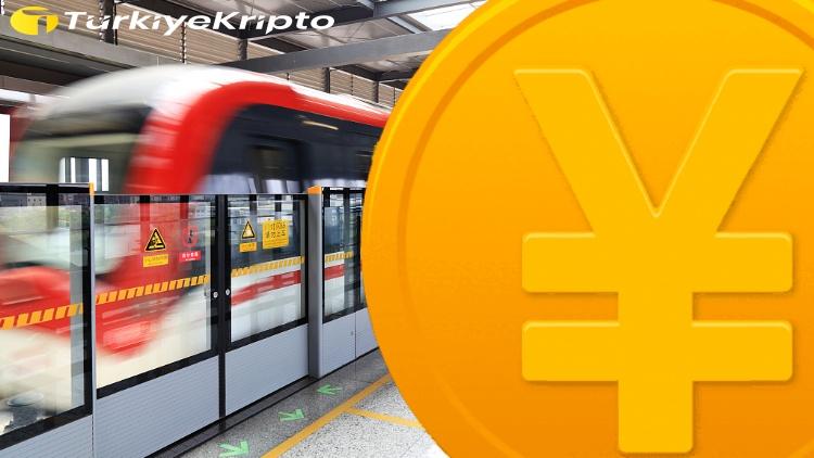 Pekin Metrosu Dijital Yuanı Destekliyor