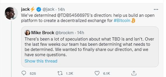 Jack Dorsey, Bitcoin Borsası Kuracak