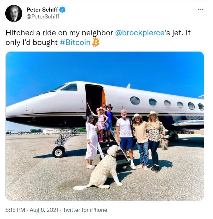 Peter Schiff'ten Bitcoin Açıklaması