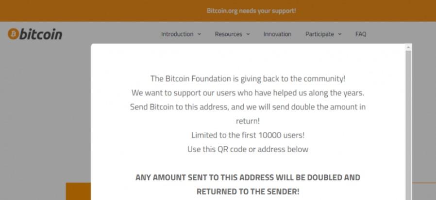 Bitcoin.org Hacklendi